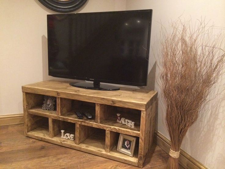 HANDMADE SOLID RECLAIMED WOODEN TV UNIT / STAND - CAN MAKE ANY SIZE - PLS EMAIL in Home, Furniture & DIY, Furniture, TV & Entertainment Stands | eBay