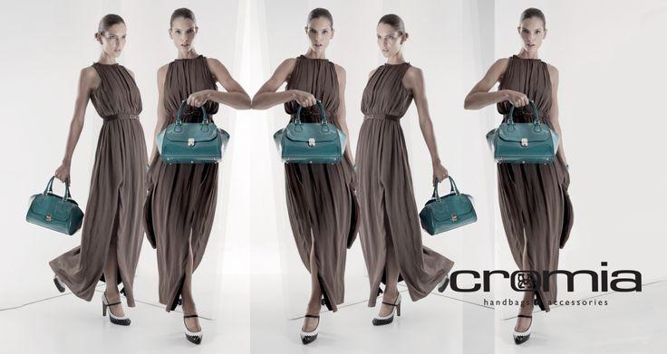 Cromia - синие сумки