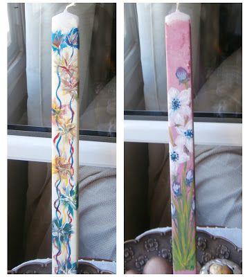 """""""Εικαστικό Καφενείο""""  Μαθήματα ζωγραφικής online • """"Le Cafe des Artistes"""" painting courses: Ζωγραφική σε κερί"""