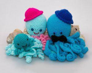 Octopus Crochet Toy PatternBaby Shower Gift