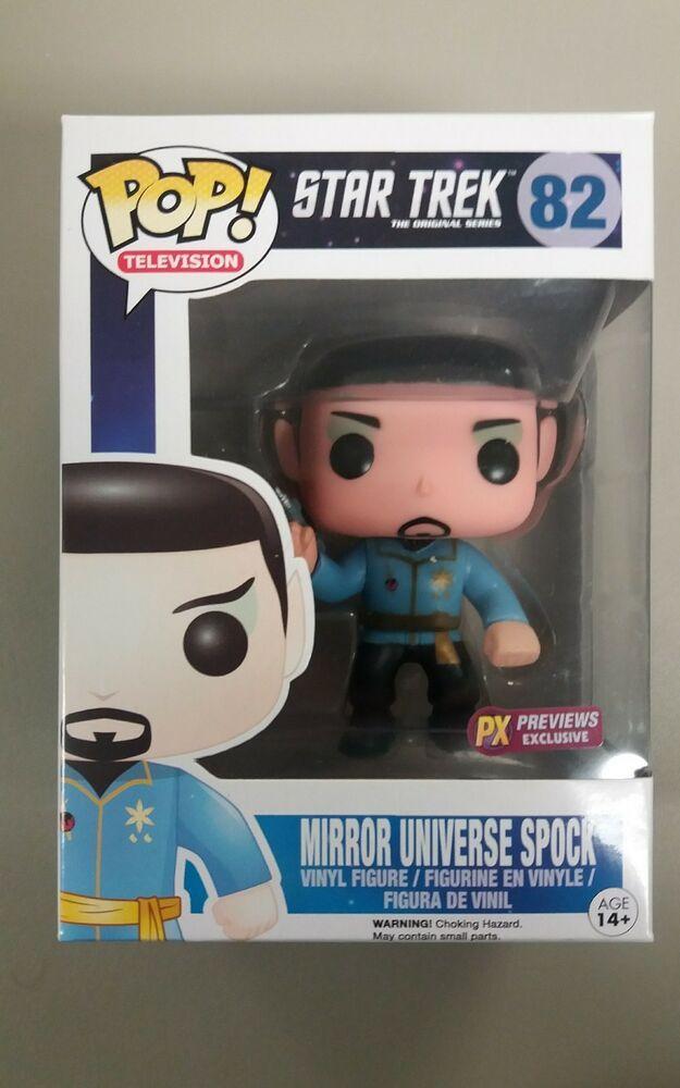 Mirror Universe Spock Pop Vinyl Figure Star Trek