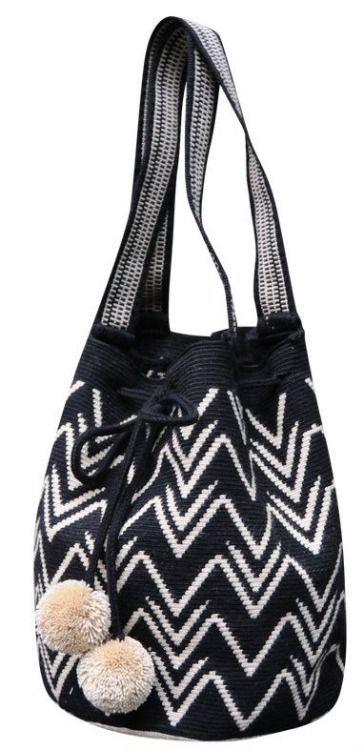 pretty pom pom purse