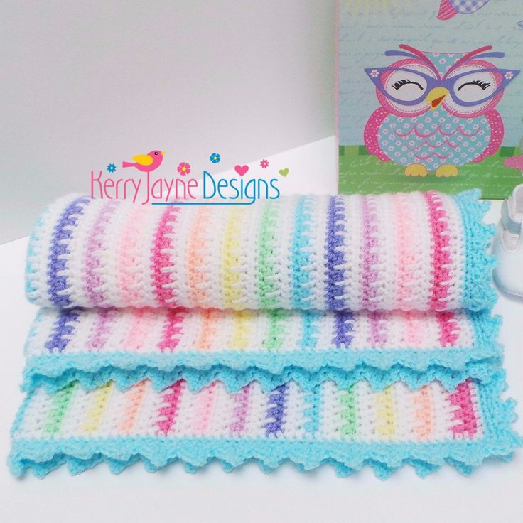Ice cream blanket Crochet Pattern