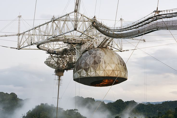 The Aging Giant of Telescopes, ShroudedIn Tropical Mist