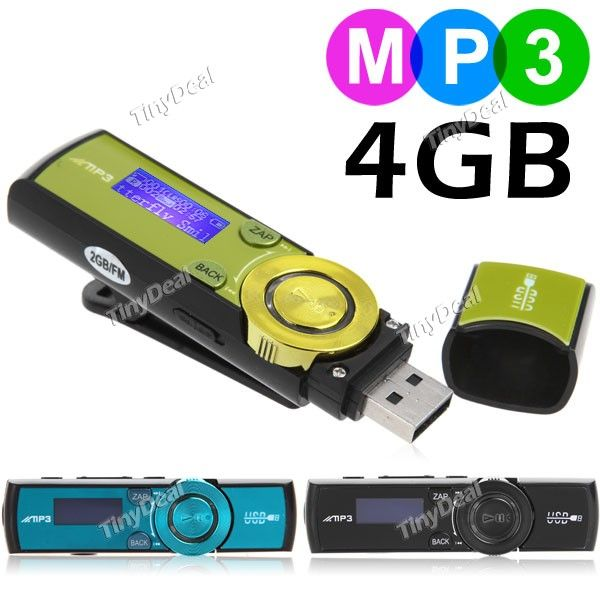 http://www.tinydeal.com/it/3-in-1-4gb-usb-20-flash-drive-fm-radio-mini-mp3-player-p-77019.html 3-in-1 Clip Design 4GB USB 2.0 Flash Drive + Mini Digital MP3 Player Music Player