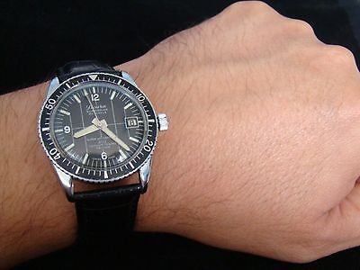 Vtge rare sicura breitling submarine #super #waterproof diver men #watch. 70s.,  View more on the LINK: http://www.zeppy.io/product/gb/2/152192294029/