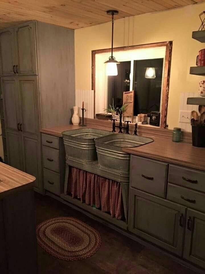 Primitive Kitchen Cabinets Fresh Primitive Kitchen