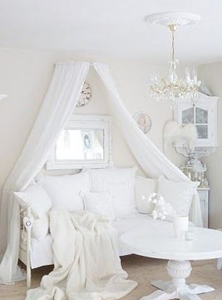 Cozy White Couch