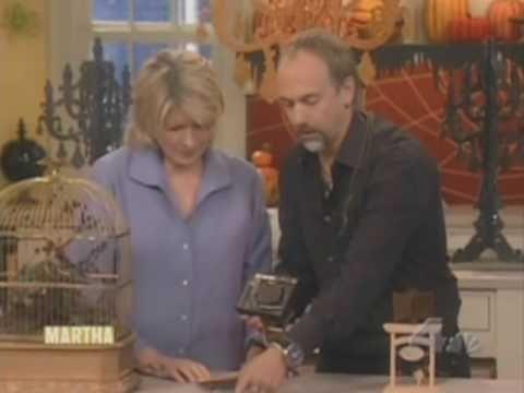 Richard Garriott on Martha Stewart - Automatons