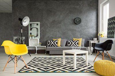 Nowoczesny salon minimalistyczny