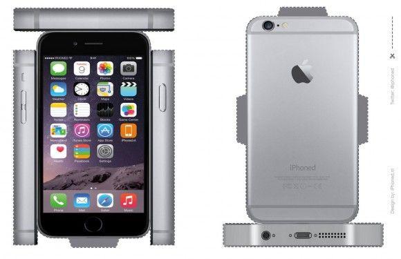 iPhone surprise maken: gebruik onze iPhone 6 en 5S bouwplaten!