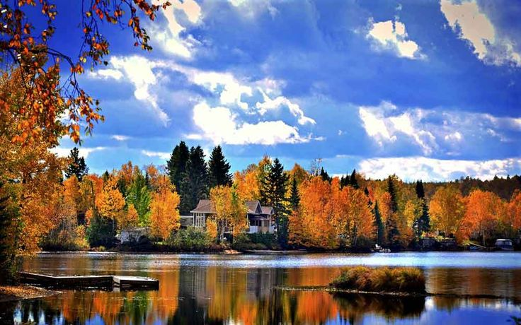 HYDRAVION QUEBEC AUTOMNE #québec #canada #canada-way #canada_automne