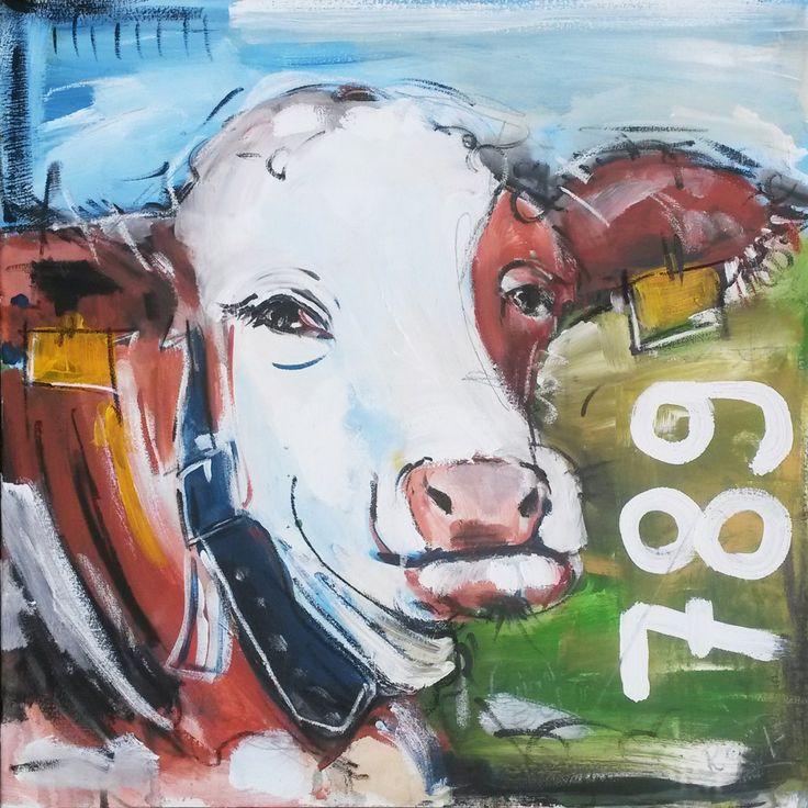 Kunstdruck U201eKuh 789u201d Direkt Im Atelier Von Stefanie Rogge Zu Bestellen.  #artprinrt
