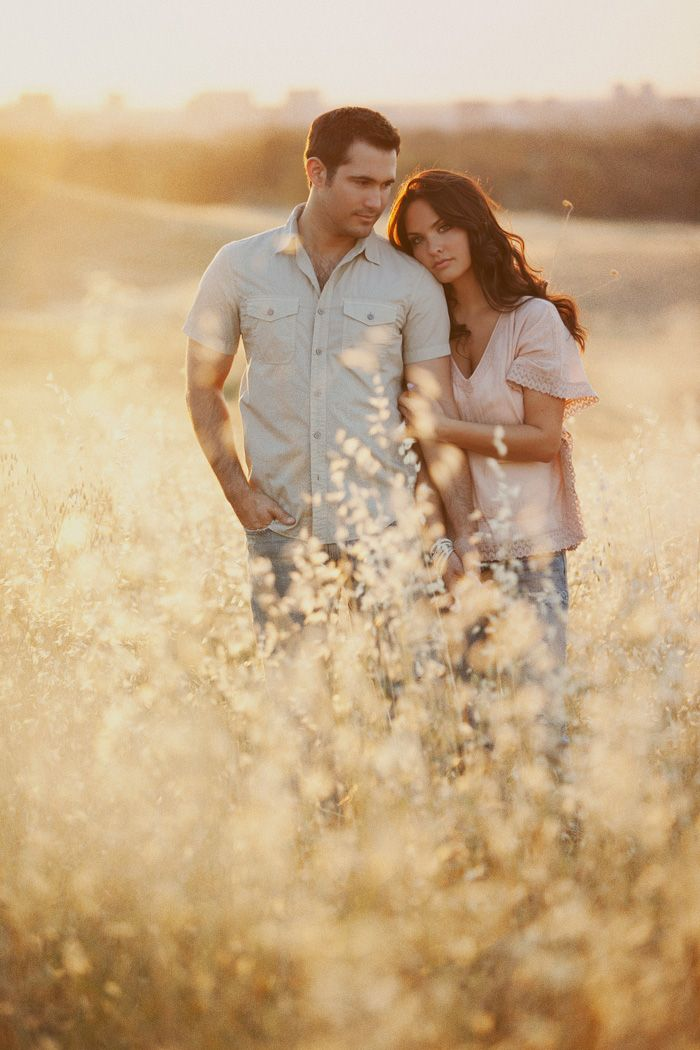love the light...and beautiful couple