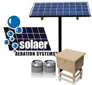Solar Powered Pond Aerators