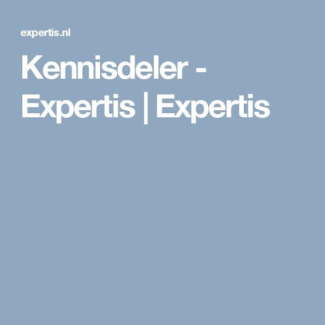Kennisdeler - Expertis | Expertis