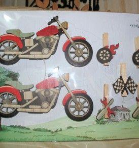 Art Pegs Motorbike