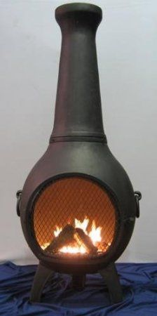 (click for best price and more info) Love this old style looking Chiminea Outdoor Fireplace . Very simple looking but puts out the heat. People will love looking at the fire inside this chiminea while gathered around. http://www.plainandsimpledeals.com/prod.php?node=49193=Chiminea_Outdoor_Fireplace_-_Blue_Rooster_ALCH027_-_Prairie_Chiminea_Outdoor_Fireplace_-_Charcoal