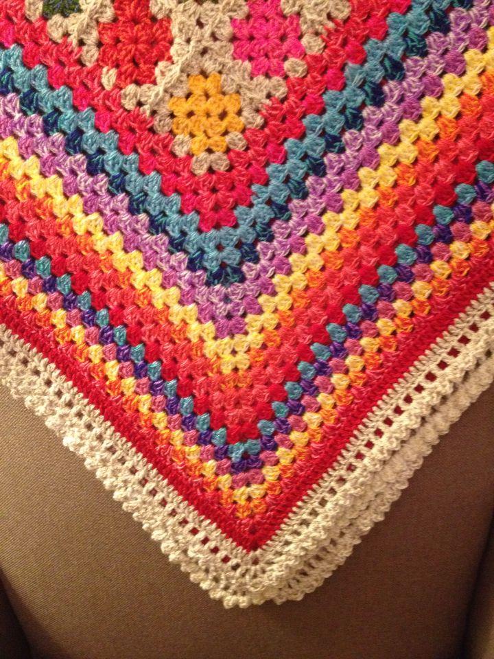 Crochet, granny, blanket