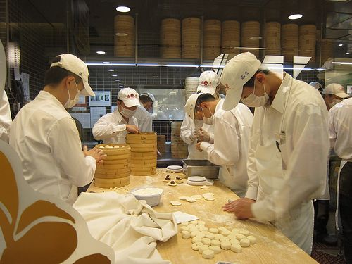 Best dumplings at Din Tai Fung in Shanghai
