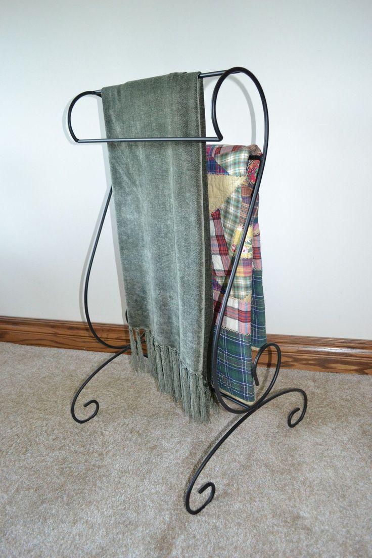 17 Best Ideas About Blanket Holder On Pinterest Blanket Rack Quilt Ladder And Wooden Crates