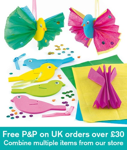 Sewing Crafts Ideas Bird 3d Funky Decorations Forward