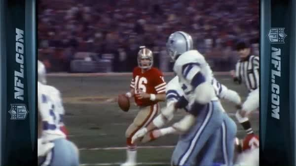 San Francisco 49ers vs. Dallas Cowboys. 1981 NFC Championship Game. The Catch!  Watch the full game for FREE on YouTube with Vin Scully on the call: http://on.nfl.com/05keqO