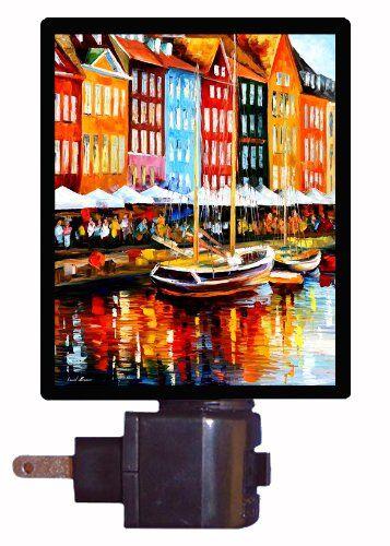 Scandinavian Night Light - Copenhagen Denmark ** To view further for this item…