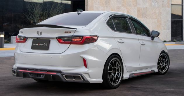 2020 Honda City Gets A Drive68 Body Kit In Thailand Paul Tan S Automotive News In 2020 Honda City Body Kit Honda