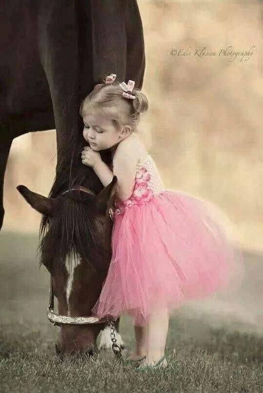 Kids and horses :) ♥