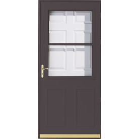 Pella Olympia Brown High View Safety Retractable Screen