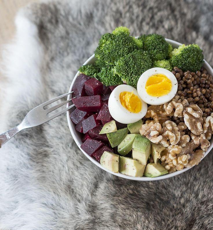 Super gezonde salade in een kom