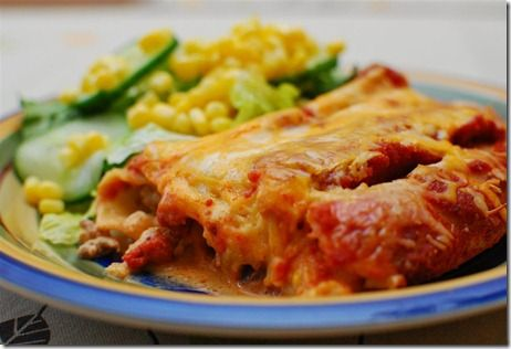 Pasta Chicken Enchiladas | Slimming Eats - Slimming World Recipes