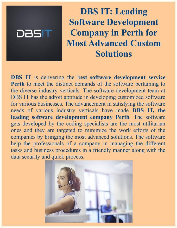 DBS IT - Leading Software Development Company in Perth for Most Advanced Custom Solutions