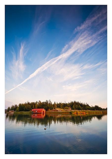 Boathouse, near Turku, Finland