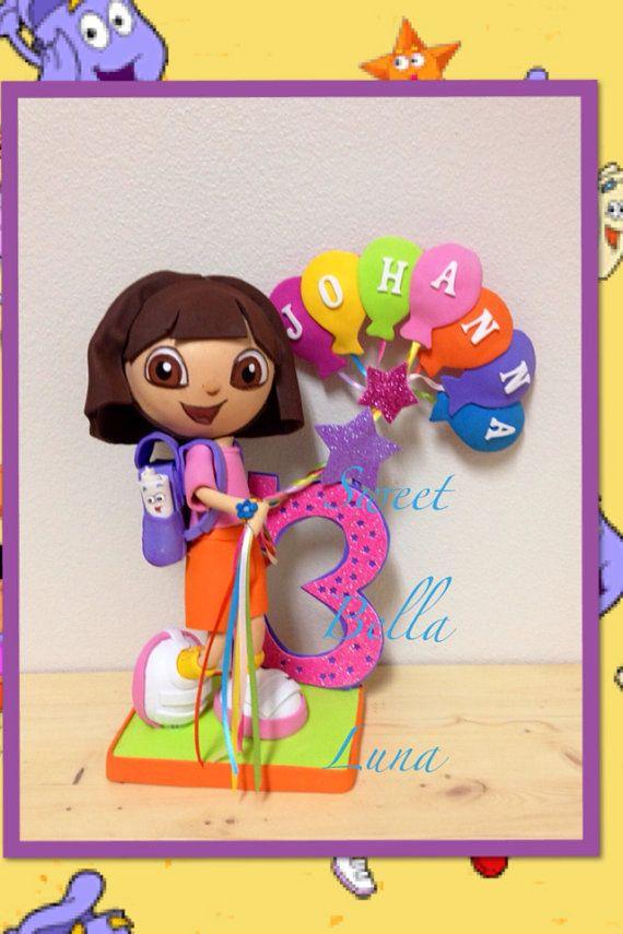 Dora The Explorer Cake Topper Centerpiece