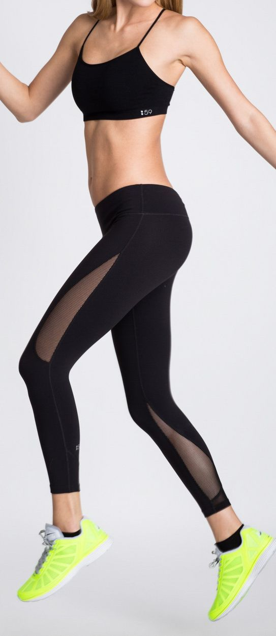 Mesh workout leggings for women fitness. #FitnessFashion #Clothing  #Workout