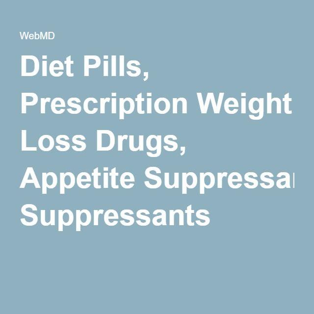prescription weight loss agents