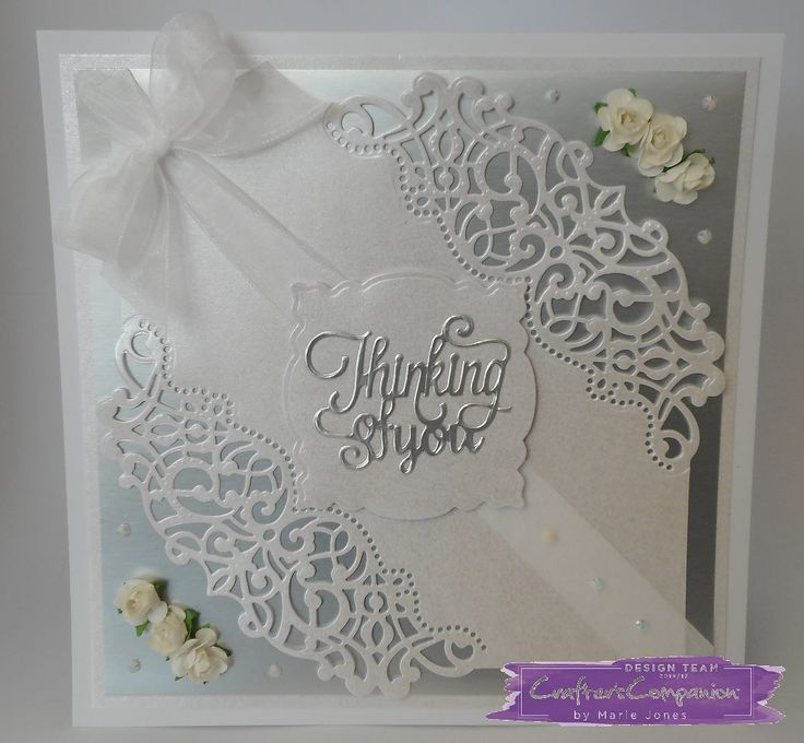 Card created with the new Die'sire 'Sophia' Create-a-Card die from #crafterscompanion