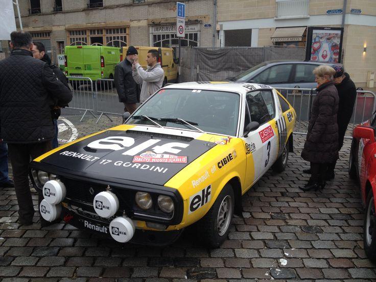 1974 renault 17 gordini 2015 historical monte carlo rally historical monte. Black Bedroom Furniture Sets. Home Design Ideas