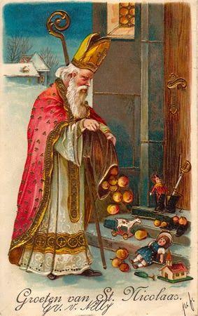 Bonne fête de Saint Nicolas!