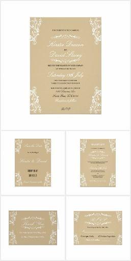 Wedding Stationery & Accessories Set 15