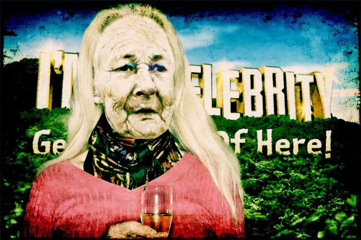 My guess is that she'll be parachuted in tomorrow night. #imacelebritygetmeoutofhere
