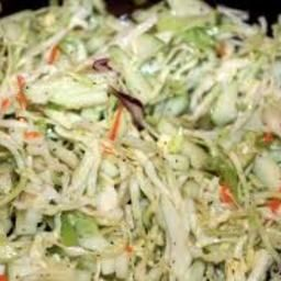 Easy to make a great twist to traditional coleslaw recipes. - Italian Coleslaw