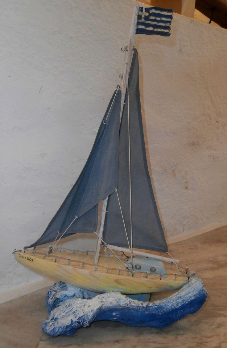 Driftwood yacht.