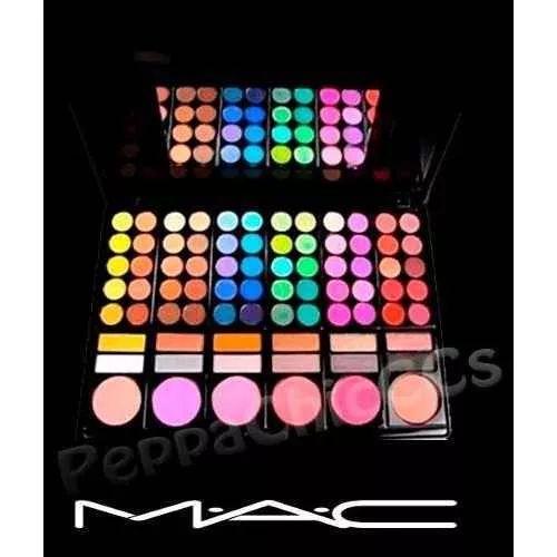 Paletas Mac Sombras Y Rubores Maquillaje Profesional - $ 950,00