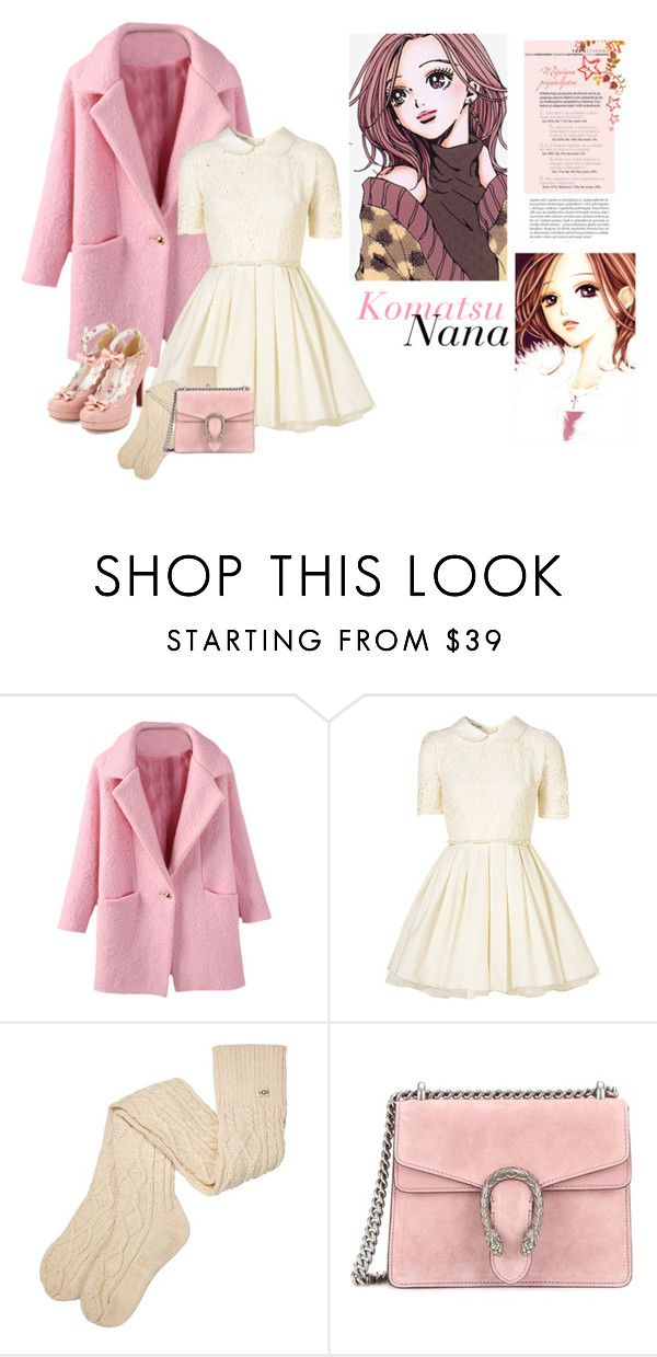 """Nana Komatsu~ 小松 奈々"" by jovanax97 ❤ liked on Polyvore featuring Jones + Jones, Nana', UGG, Gucci, anime, NANA, Hachiko and komatsunana"