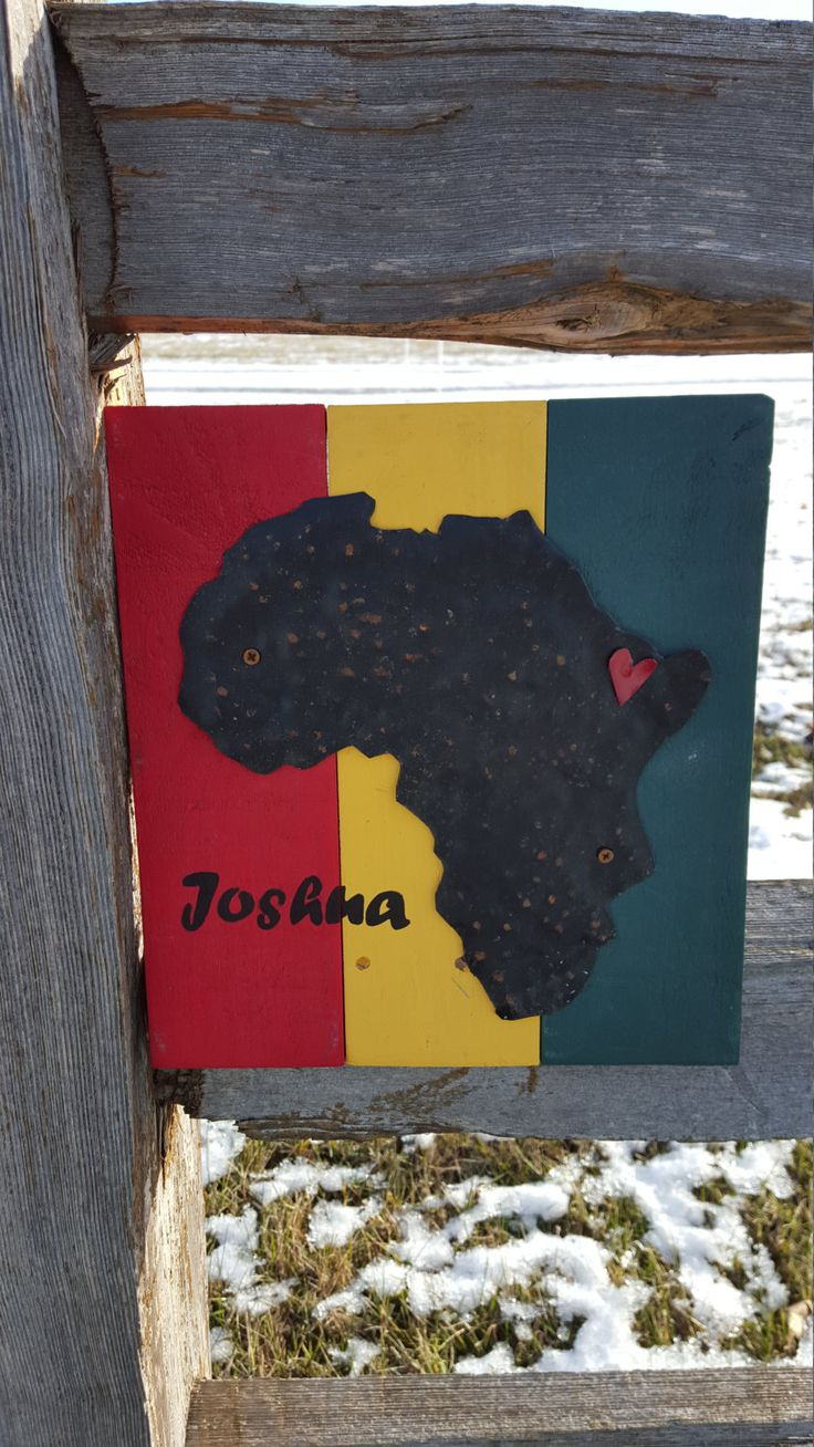Ethiopia, Africa Home Sign, Wood Africa Sign. Metal Africa, Adoption  Birthplace Sign