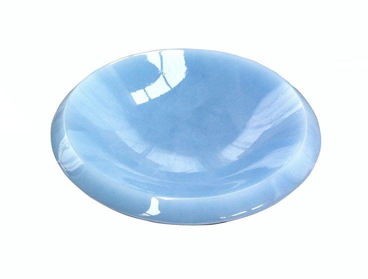Opaline Blue Bowl, Nejet Kavvas.  Parnell Gallery Artist.  http://www.parnellgallery.co.nz/artists/nejat-kavvas/
