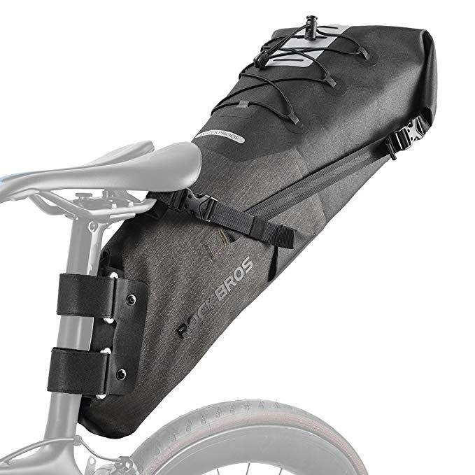 Rockbros Waterproof Bike Saddle Bag Large Capacity Cycling Rear